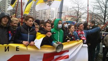 """""""Русский марш"""" в Люблино"""