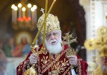 Грузинский католикос-патриарх Илия II, архивное фото