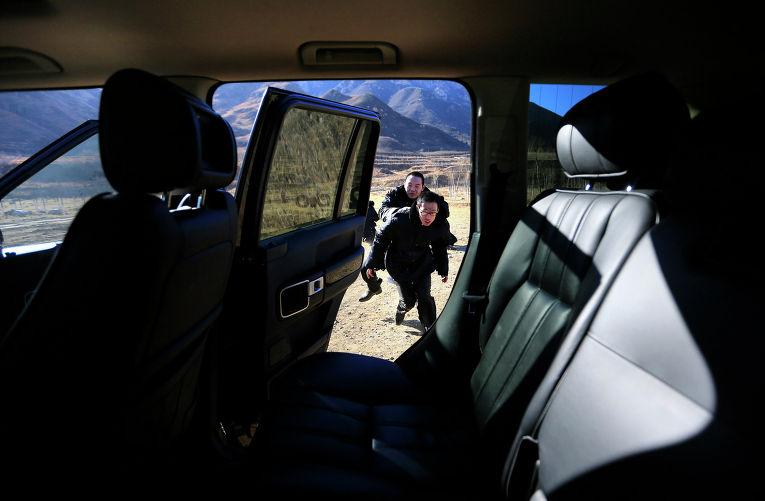 Подготовка телохранителей в Китае