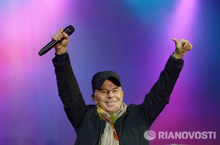 Олег Газманов на праздновании 1150-летия Смоленска