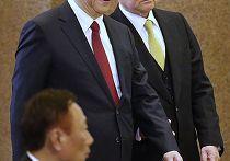 Встреча секретаря ЦК КПК Си Цзиньпина с почетным председателем Гоминьдана Лянь Чжанем