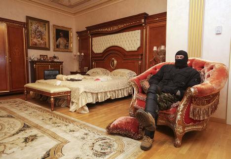 Комната в доме Виктора Пшонки
