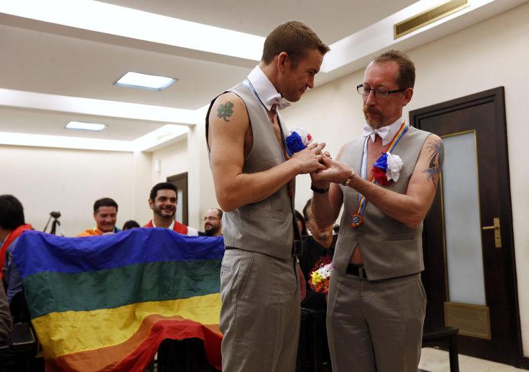 Свадьба гей-пары из Сочи в Буэнос-Айресе