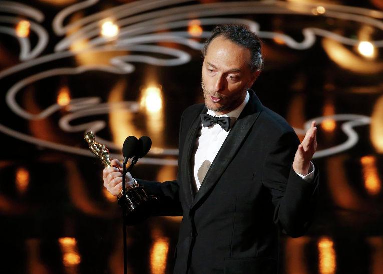 """Мексиканский и американский кинооператор, режиссёр, продюсер Эммануэль Любецки на 86-й церемонии вручения премии """"Оскар"""""""