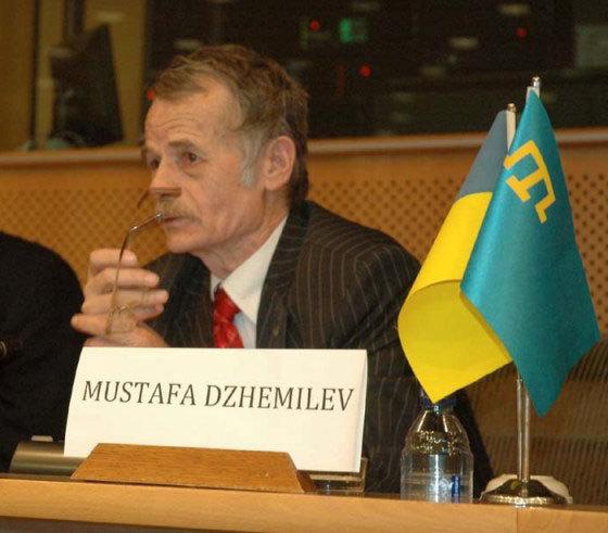 Народный депутат Украины, экс-глава Меджлиса крымскотатарского народа Мустафа Джемилев