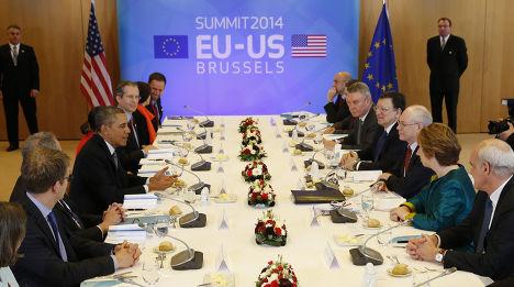 Саммит ЕС-США в Брюсселе