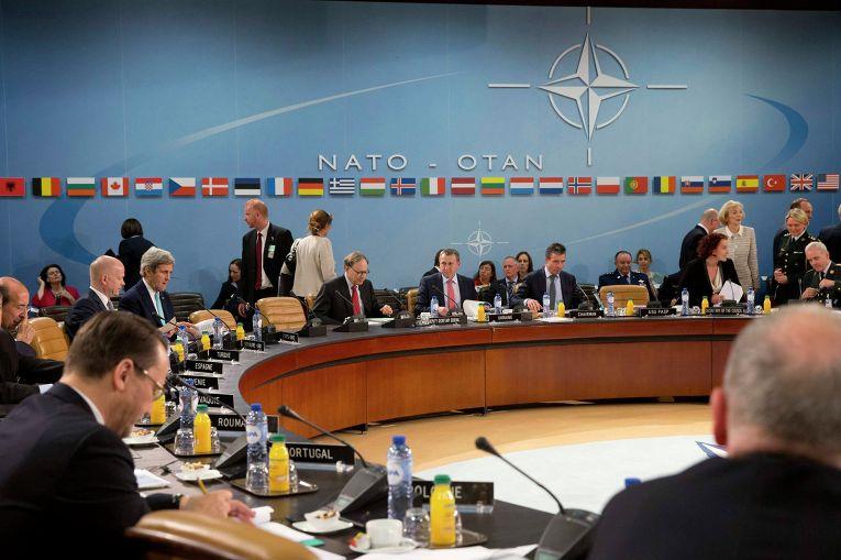 Встреча глав МИД стран НАТО в Брюсселе