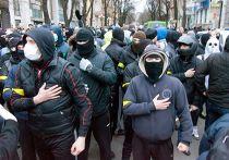 Проукраинский митинг в Харькове