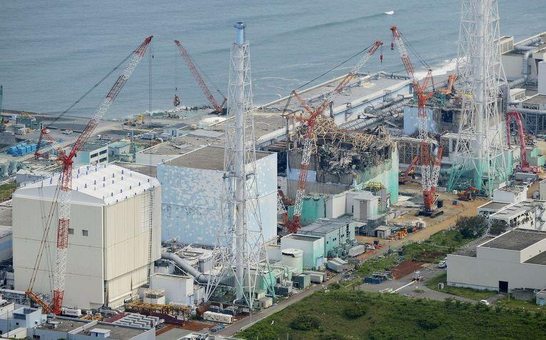 АЭС «Фукусима-1» через год после аварии