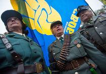 Марш по случаю 70-летия «Украинской повстанческой армии»