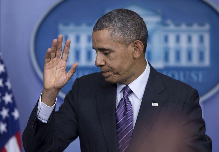Обращение Барака Обамы, в котором он говорит о медицинском обеспечении и ситуации на Украине