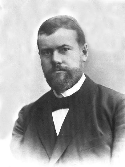 Немецкий ученый Макс Вебер