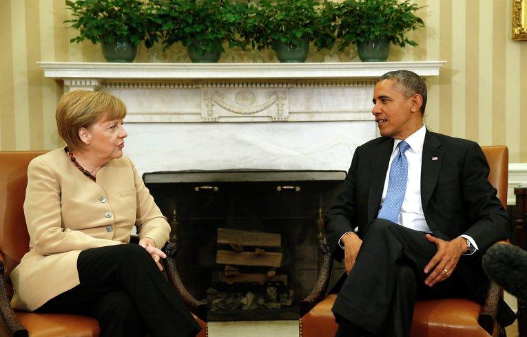 Обама и Меркель обсуждают Украину в Белом доме