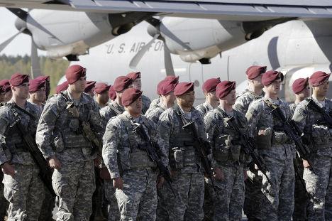 Десантники из 173-й пехотной бригады прибыли в Латвию
