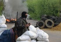 Украинские войска начали штурм города Славянска