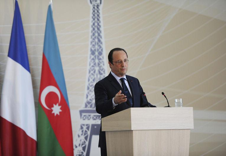 Визит Франсуа Олланда в Азербайджан