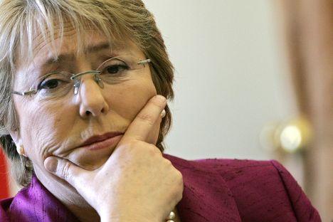 Президент Чили Мишель Бачелет