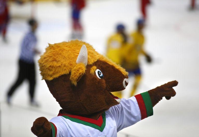 Маскот Чемпионата мира по хоккею, проходящего в Минске