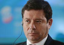 Министр электроэнергетики и возобновляемых источников энергии Эквадора Эстебан Альборнос на Петербургском международном экономическом форуме
