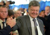 Кандидат в президенты Украина Петр Порошенко