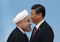 Президент Ирана Хасан Рухани и председатель КНР Си Цзиньпин