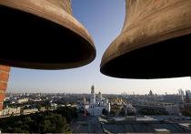 Вид на Москву со Спасской Башни