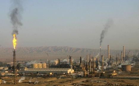 Нефтеперерабатывающий завод в Байджи