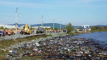 Паводковая ситуация в Комсомольске-на-Амуре