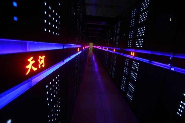 Китайский суперкомпьютер «Тяньхэ-2»
