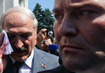 Александр Лукашенко на церемонии инаугурации Петра Порошенко