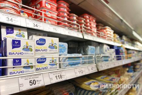 """Запрет на поставку финской продукции """"Валио"""" вводится в России"""