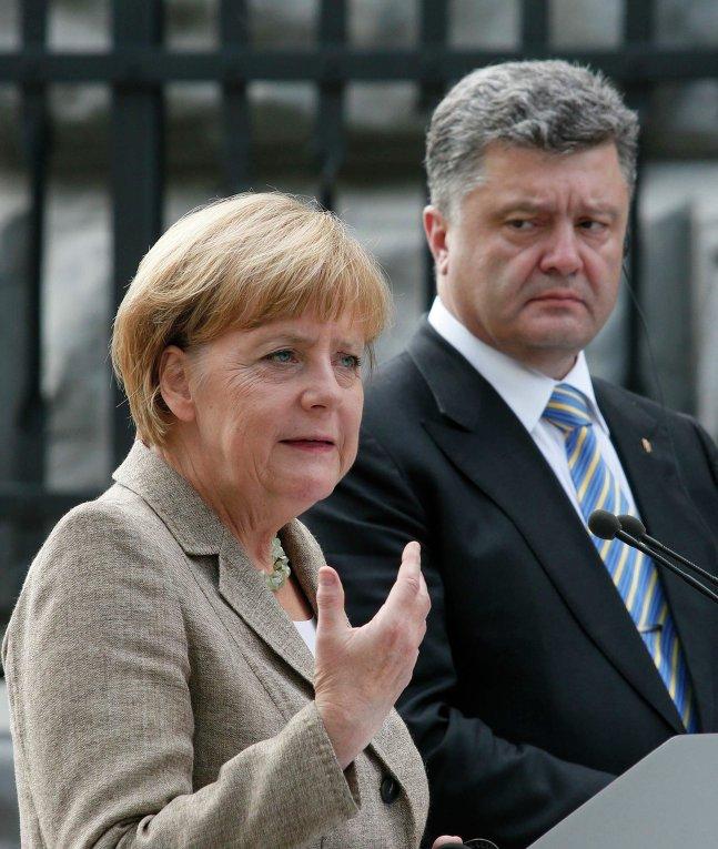 Встреча Петра Порошенко с Ангелой Меркель