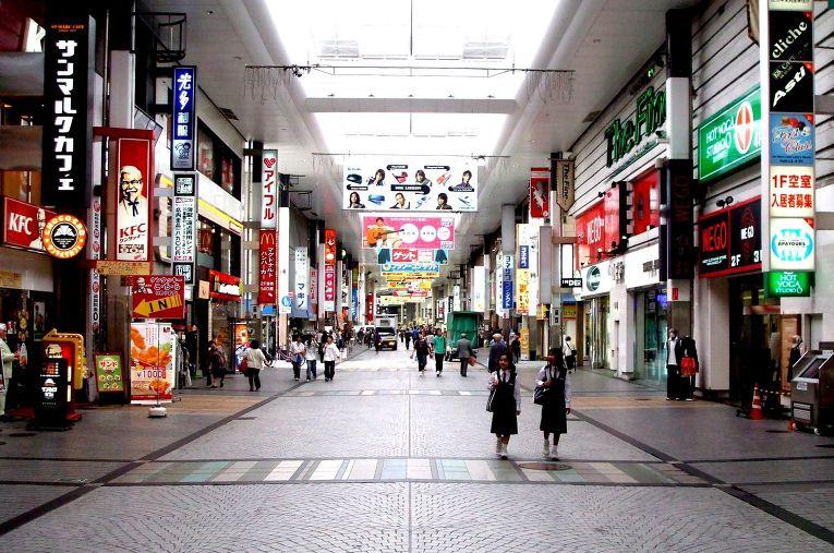 Улица в Кумамото