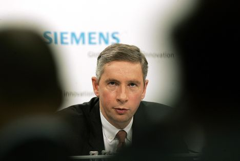 Бывший глава Siemens Клаус Кляйнфельд