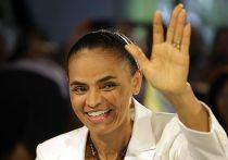 Кандидат на пост президента Бразилии Марина Силва