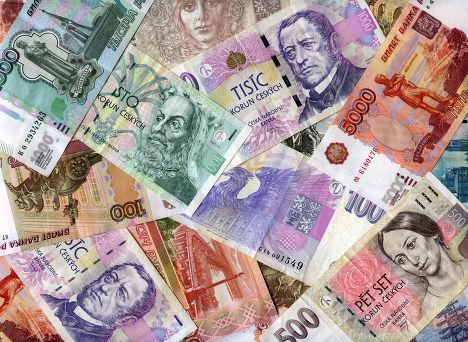 Чешские кроны и российские рубли