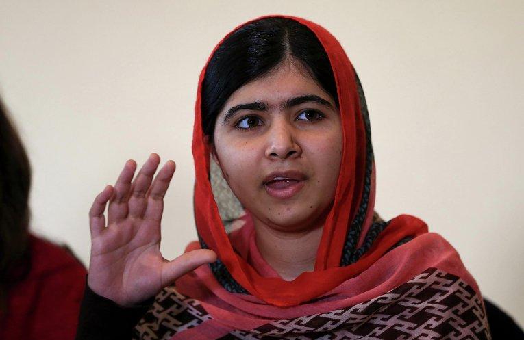 Малала Юсуфзай в Нигерии