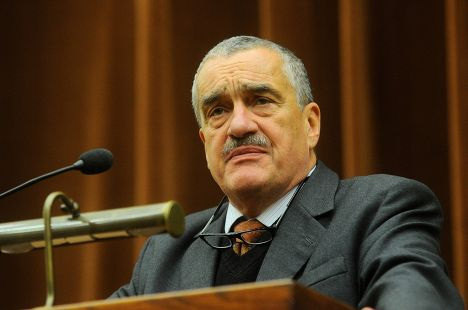 Чешский политик Карел Шварценберг