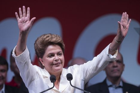 Дилма Русеф победила на президентских выборах