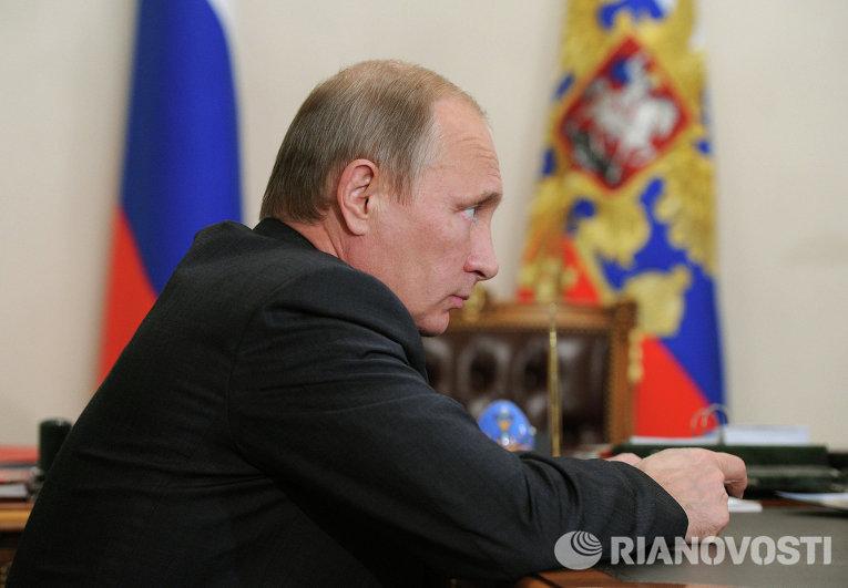 В.Путин провел рабочую встречу с Е.Савченко