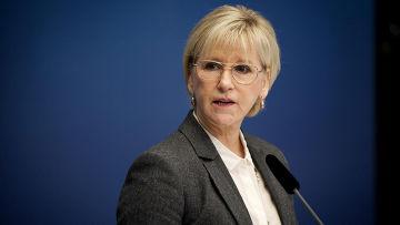 Министр иностранных дел Швеции Маргот Вальстрем