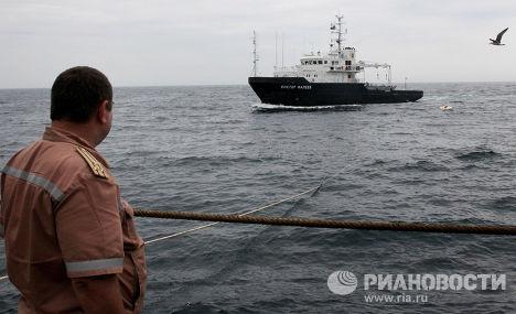 Российское гидрографическое судно
