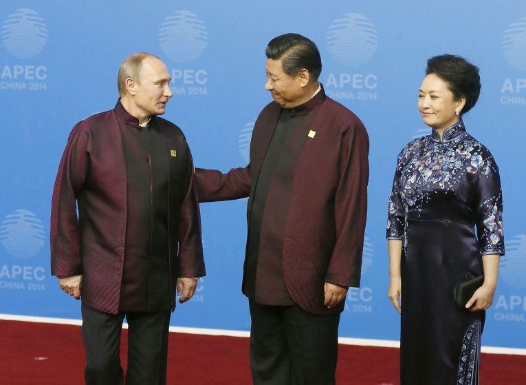 Владимир Путин и Си Цзиньпин на саммите АТЭС в Пекине