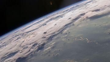 Фотография Земли с МКС
