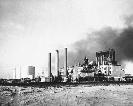 Завод компании Abqaiq Powerhouse в Саудовской Аравии