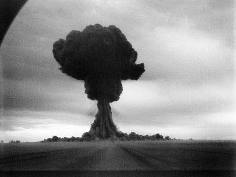 Первый в СССР взрыв атомной бомбы