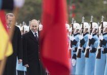 Рабочий визит Владимира Путина вТурцию