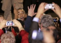 Барак Обама выступает в Чикаго