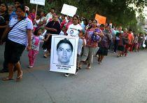 Демонстрация в Мексике с требованием справедливости для пропавших учащихся в штате Герреро, 23 ноября 2014