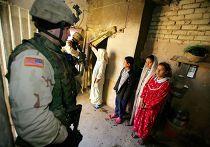 Американский солдат в Ираке, 2005 год